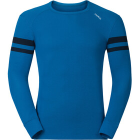 Odlo GOD Jui Camiseta Interior Cuello Redondo Hombre, directoire blue